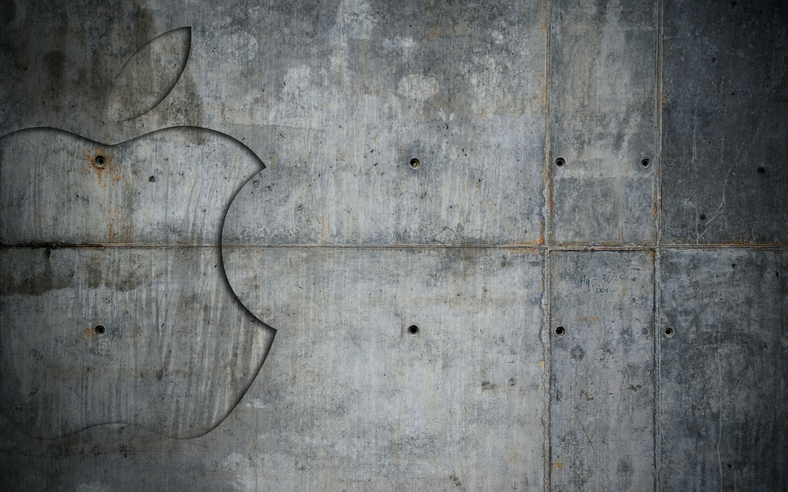 grunge metal apple wallpapers | grunge metal apple stock photos