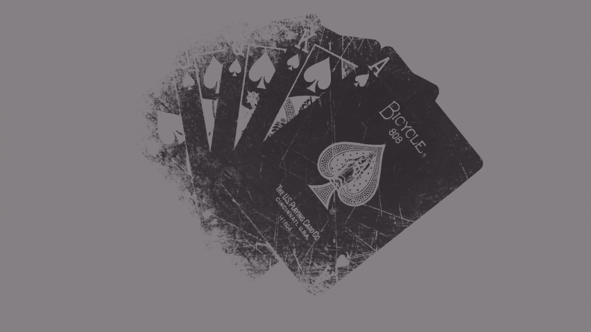 825x315 Grunge Playing Cards Facebook Cover Photo