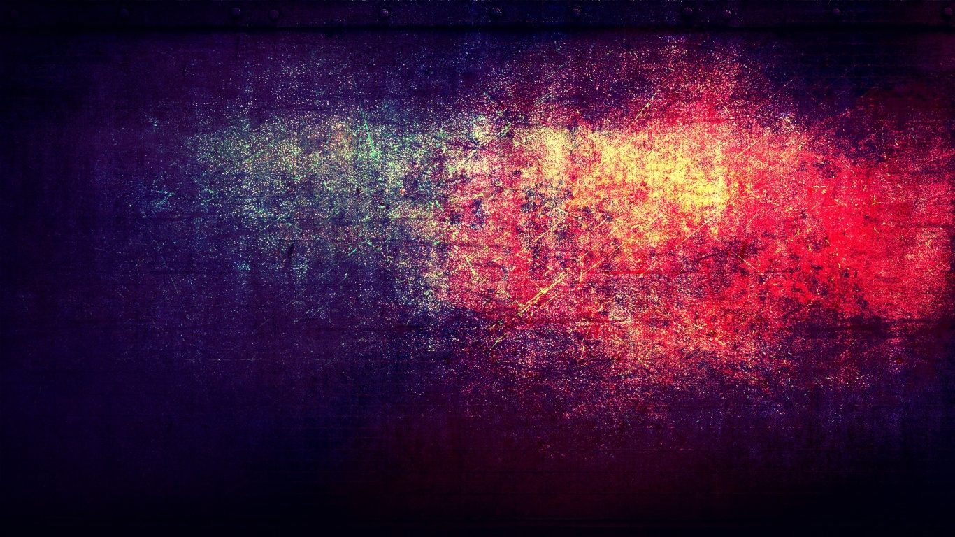 1366x768 grunge red and blue desktop pc and mac wallpaper