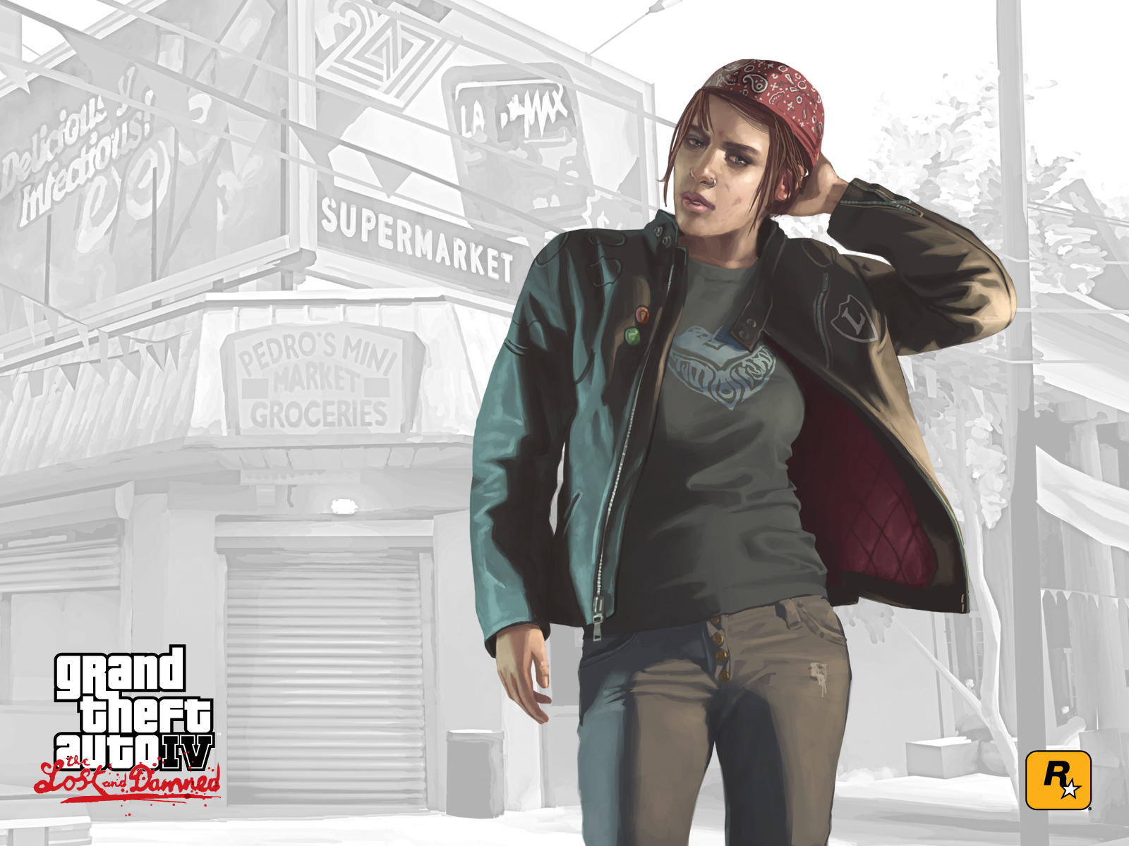 1600x1200 GTA: The Lost and Damned desktop PC and Mac ...