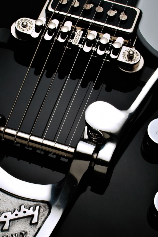 640x960 Guitar Strings Iphone 4 Wallpaper