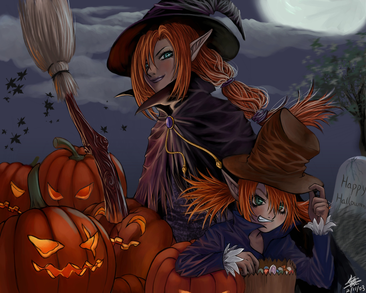 Halloween witch wallpapers Halloween witch stock photos