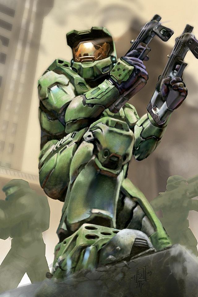 640x960 Halo 2 Iphone 4 Wallpaper