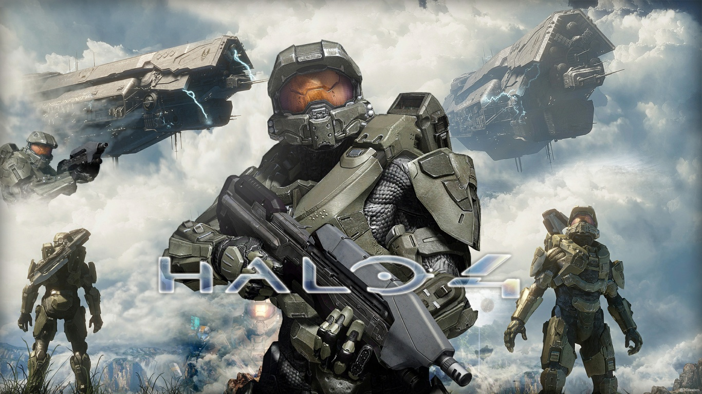 1366x768 Halo 4, games desktop PC and Mac wallpaper