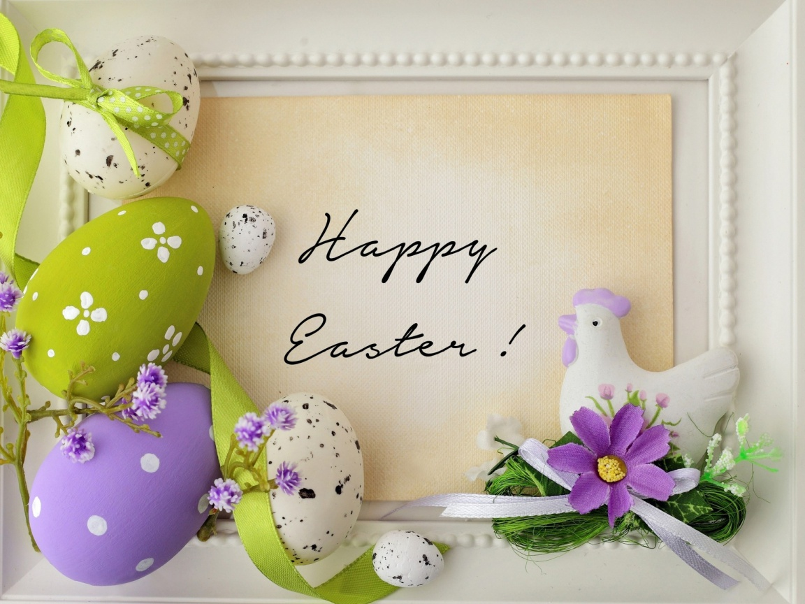 1152x864 Happy Easter 2015
