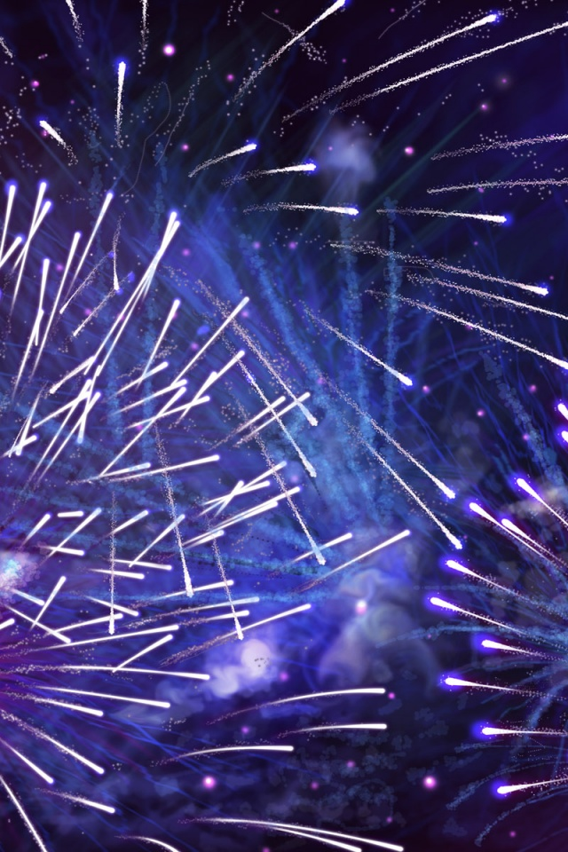 640x960 happy new year iphone 4 wallpaper