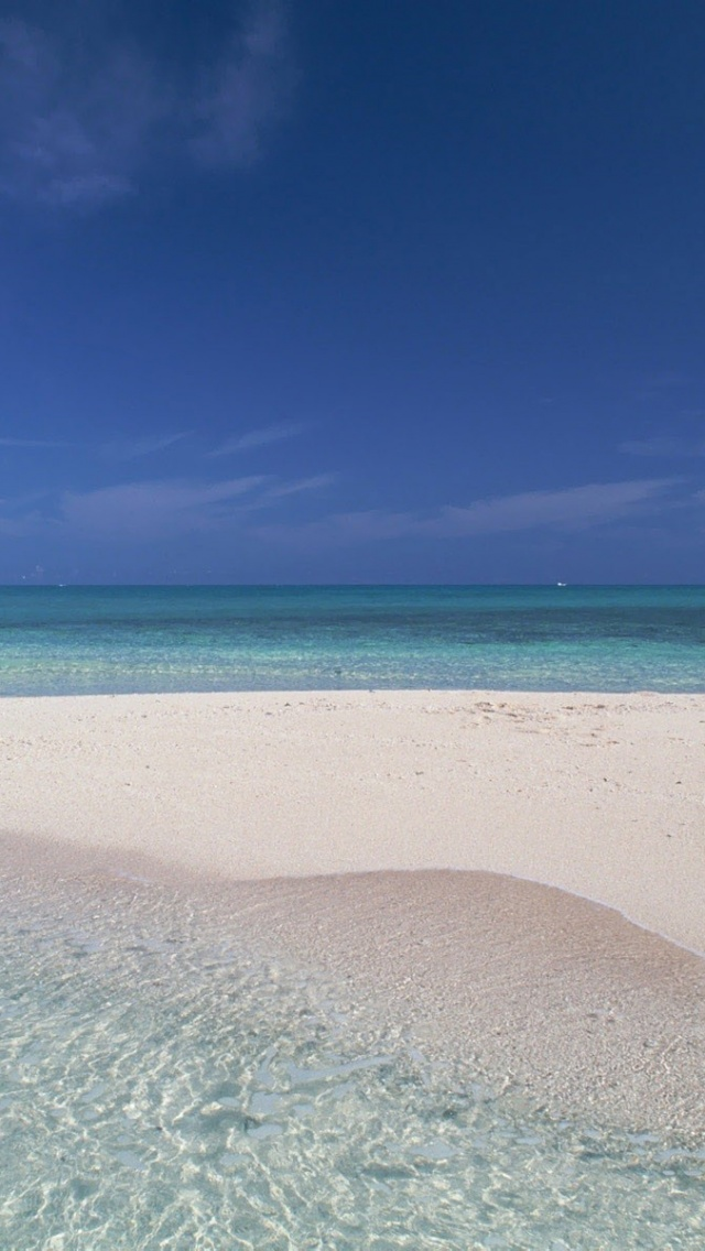640x1136 Hawaii Beach Horizon Iphone 5 Wallpaper