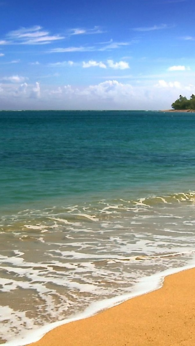 640x1136 Hawaii Five Cities Beach Iphone 5 Wallpaper