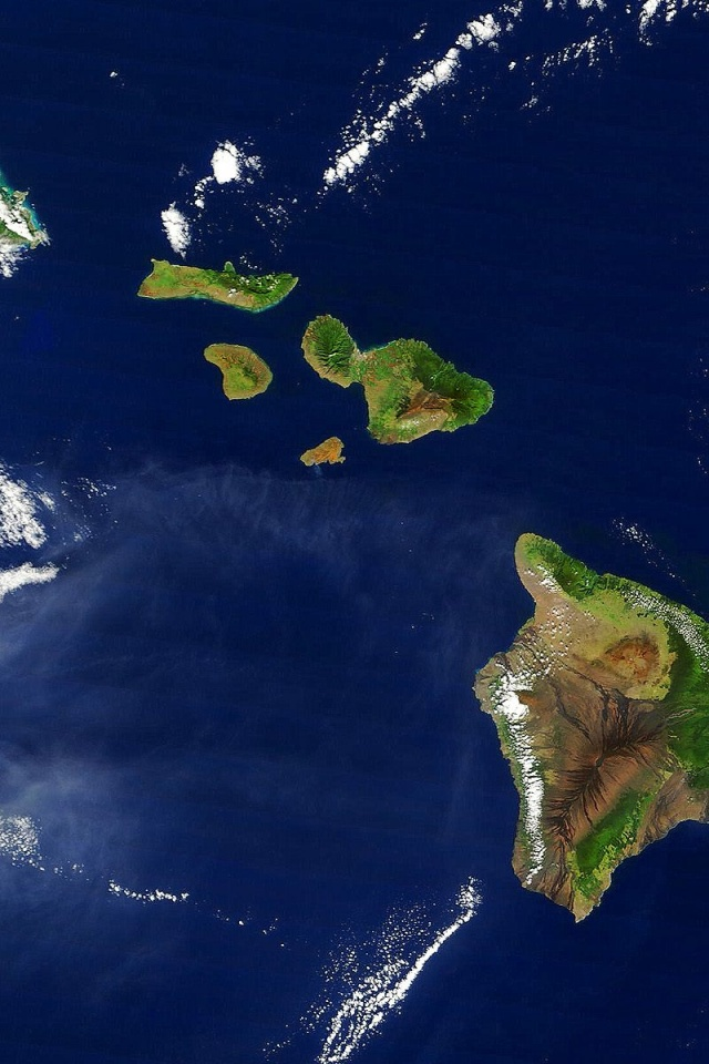 Map Of The Islands In Hawaii