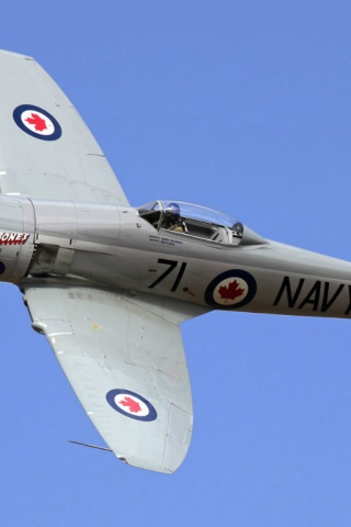 320x480 Hawker Sea Fury