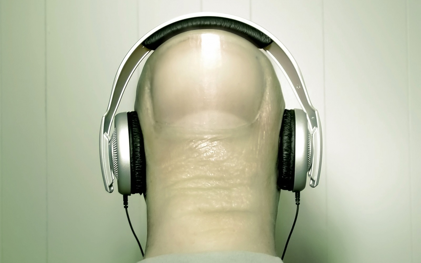 1440x900 Headphones on head