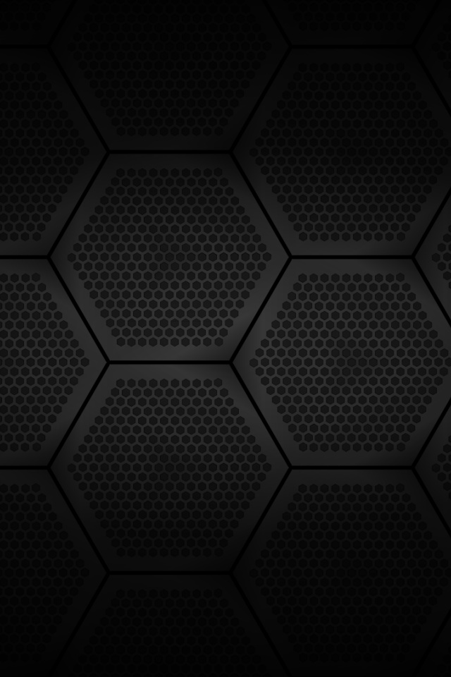 640x960 hexagonal grid iphone 4 wallpaper