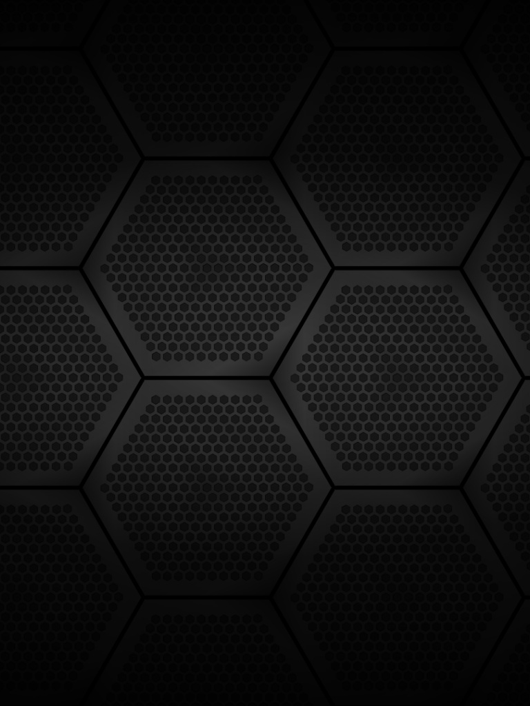 768x1024 Hexago... Ipad Wallpaper 768x1024