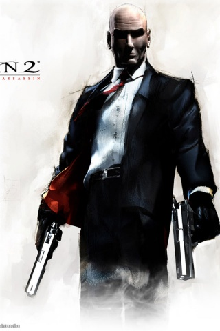 320x480 Hitman 2 Iphone 3g Wallpaper