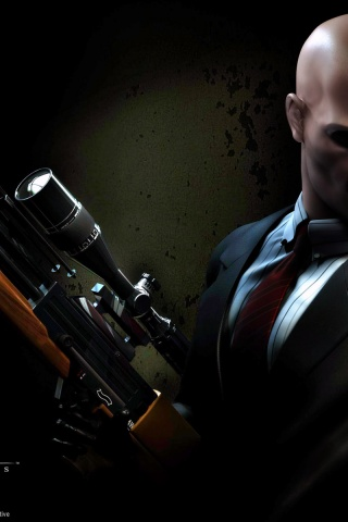 320x480 Hitman Contracts Iphone 3g Wallpaper