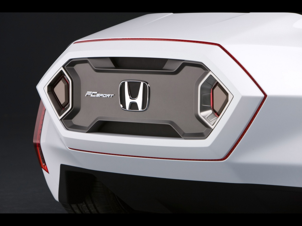 1024x768 Honda FC tail lights