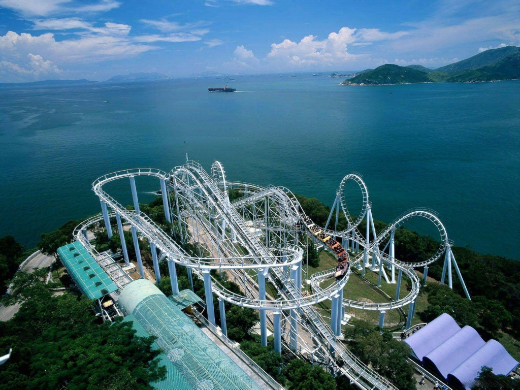 1024x768 Hong Kong coaster