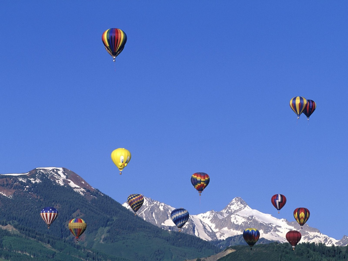 1152x864 Hot Air Balloons Desktop Pc And Mac Wallpaper