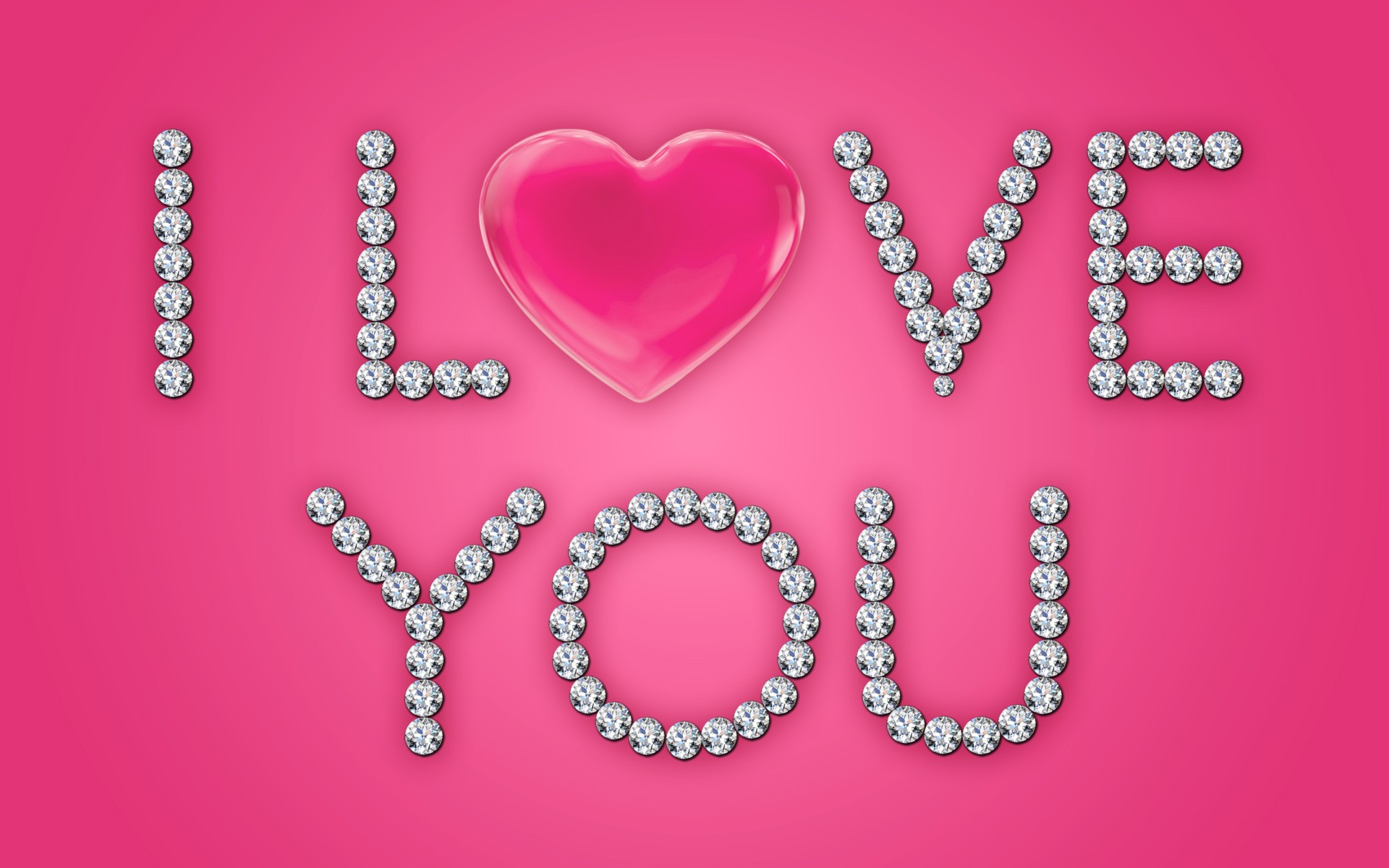I love you heart wallpaper