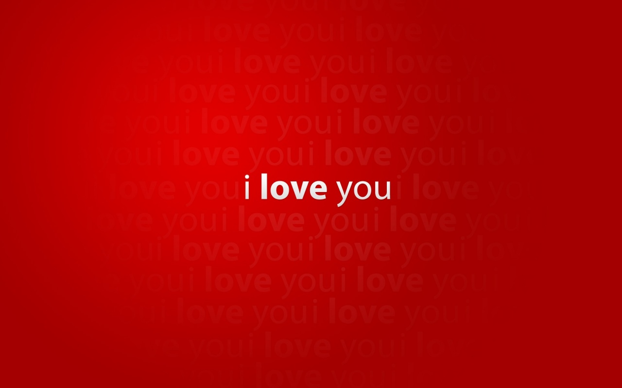 Desktop Wallpaper I Love You : 1280x800 I love you desktop Pc and Mac wallpaper