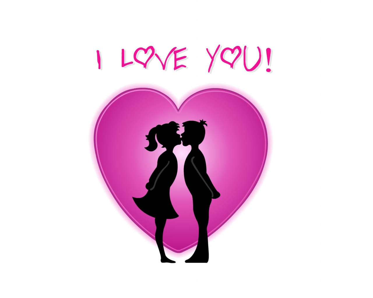 1280x1024 I love you desktop Pc and Mac wallpaper