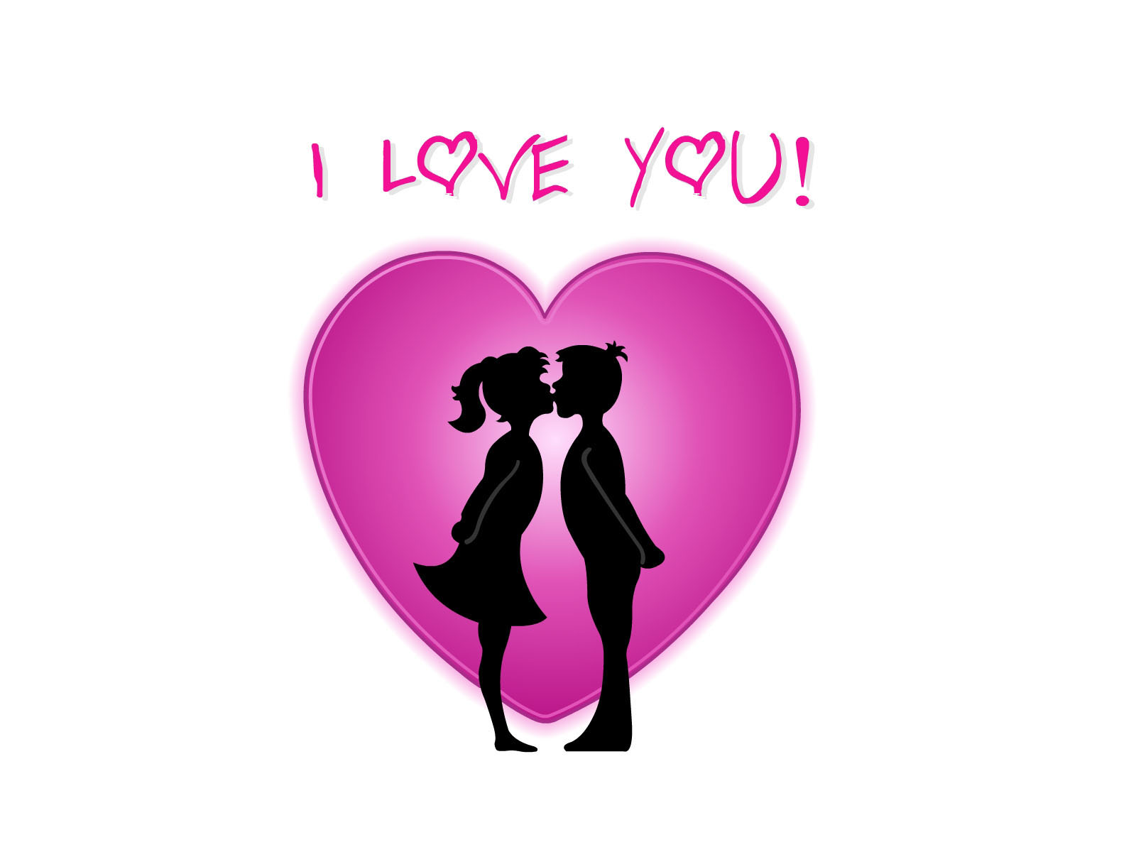 1600 I love you desktop wallpapers and stock photos