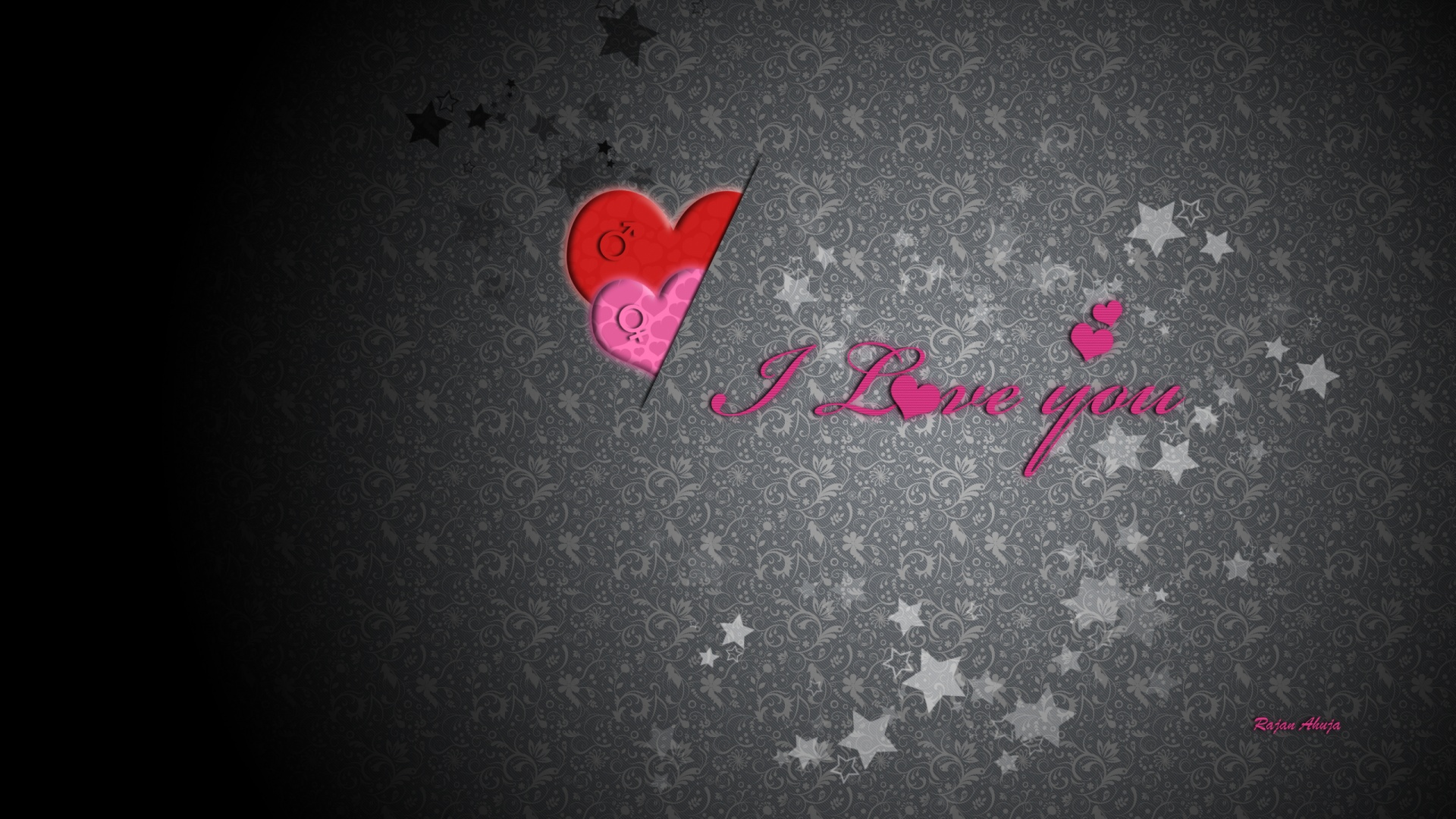 1920x1080 I love you desktop Pc and Mac wallpaper