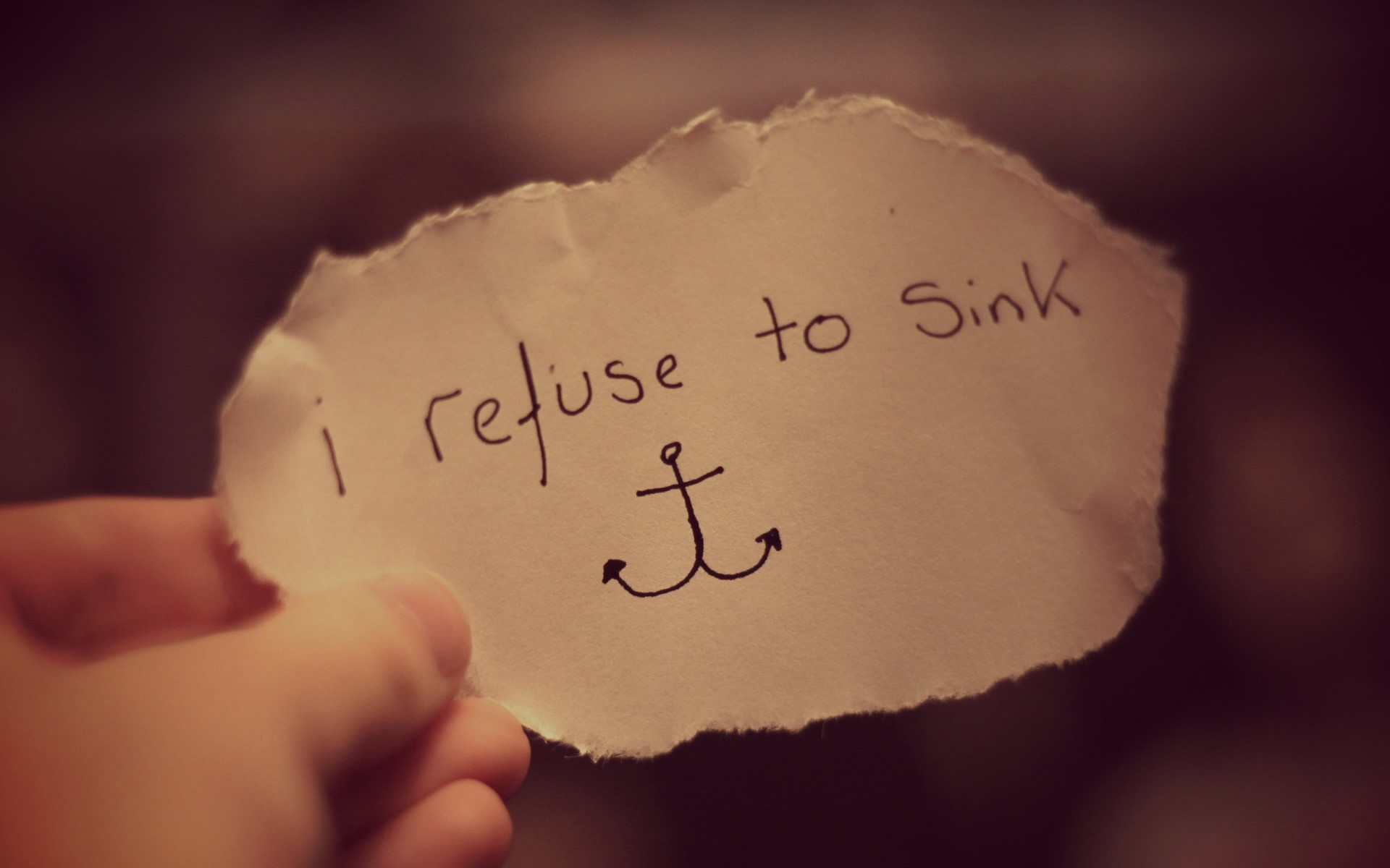 i refuse to sink wallpapers
