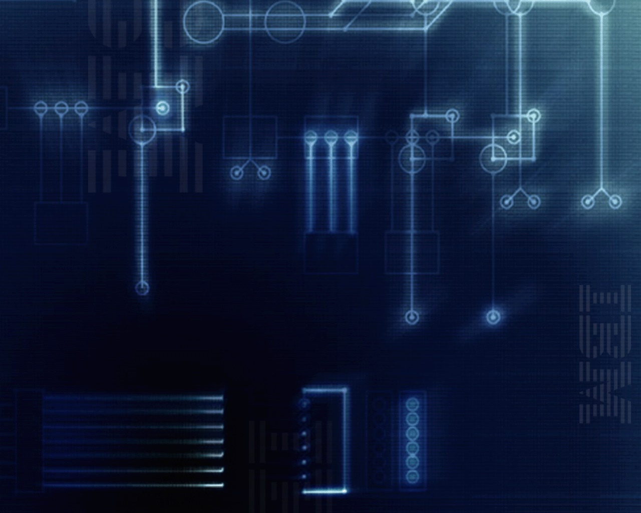 1280x1024 IBM Blue Circuits Desktop Wallpapers And Stock Photos