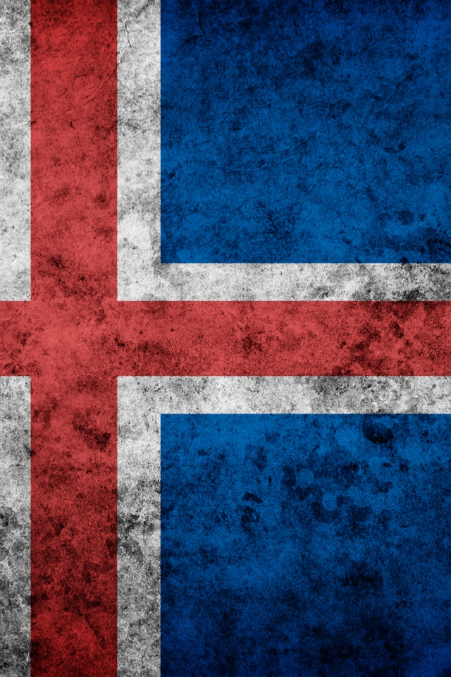 640x960 iceland grunge flag iphone 4 wallpaper - Iceland iphone wallpaper ...