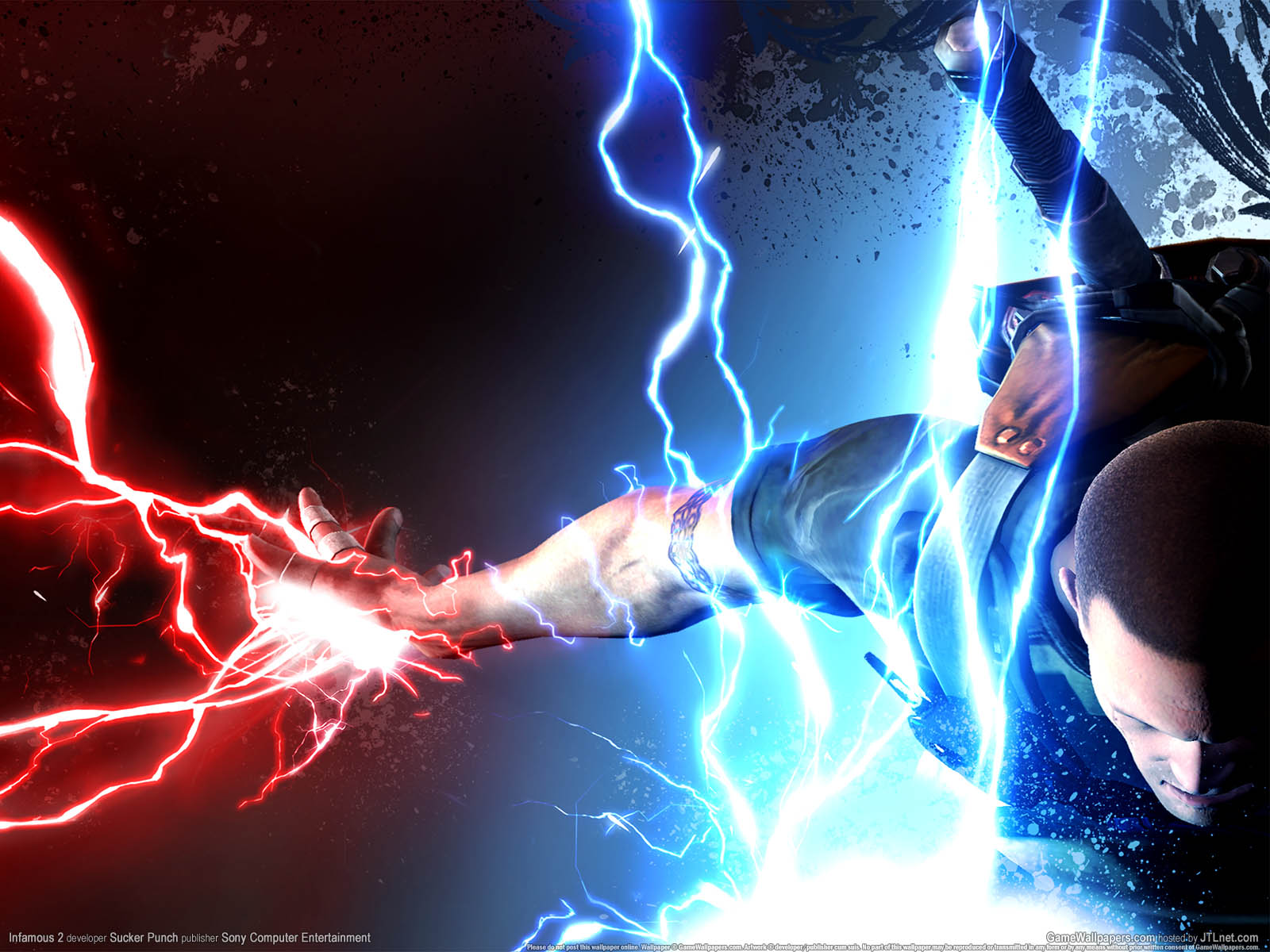 1600x1200 infamous 2 desktop pc and mac wallpaper