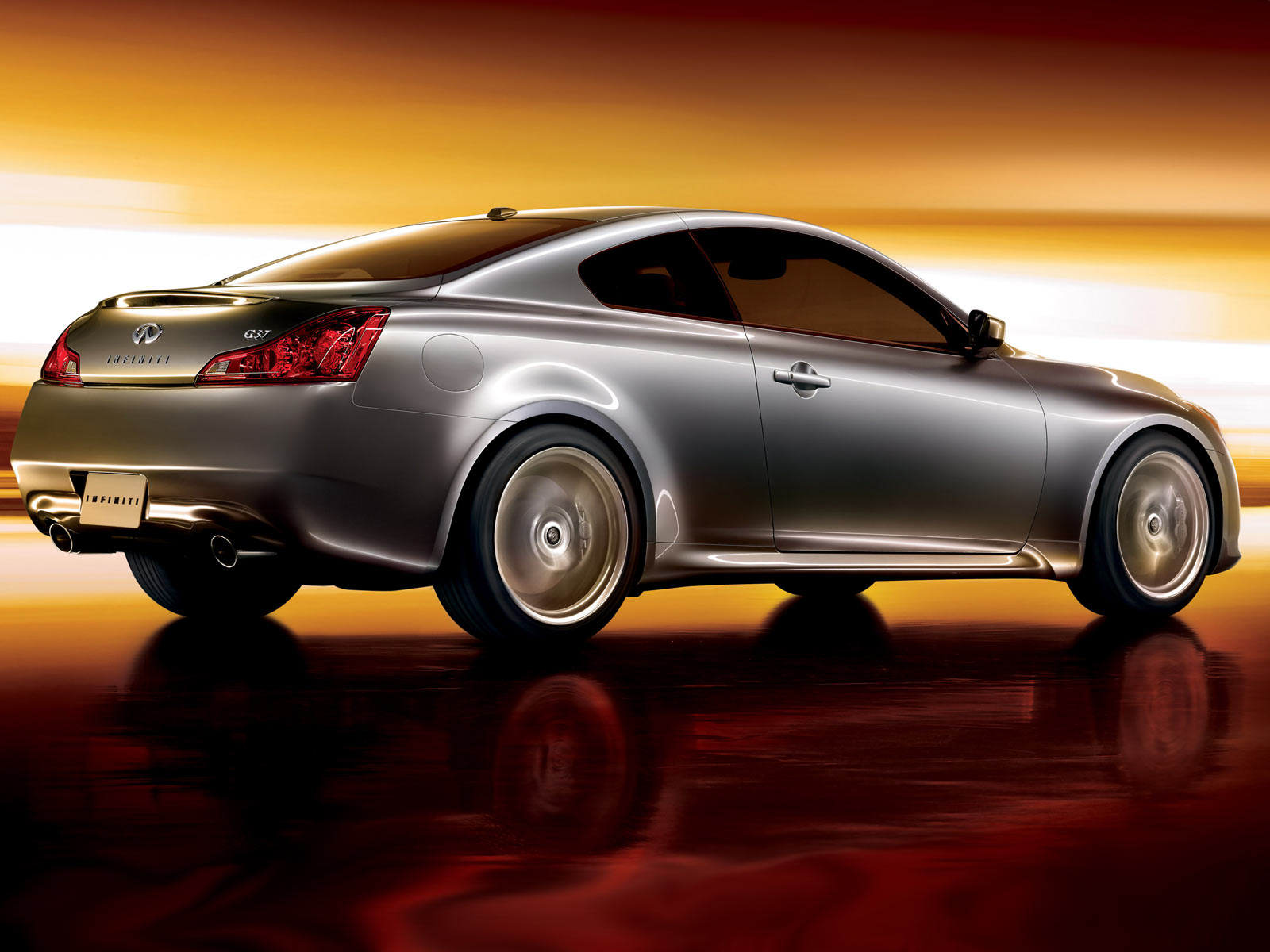 Infiniti G37 Rear Wallpapers Infiniti G37 Rear Stock Photos