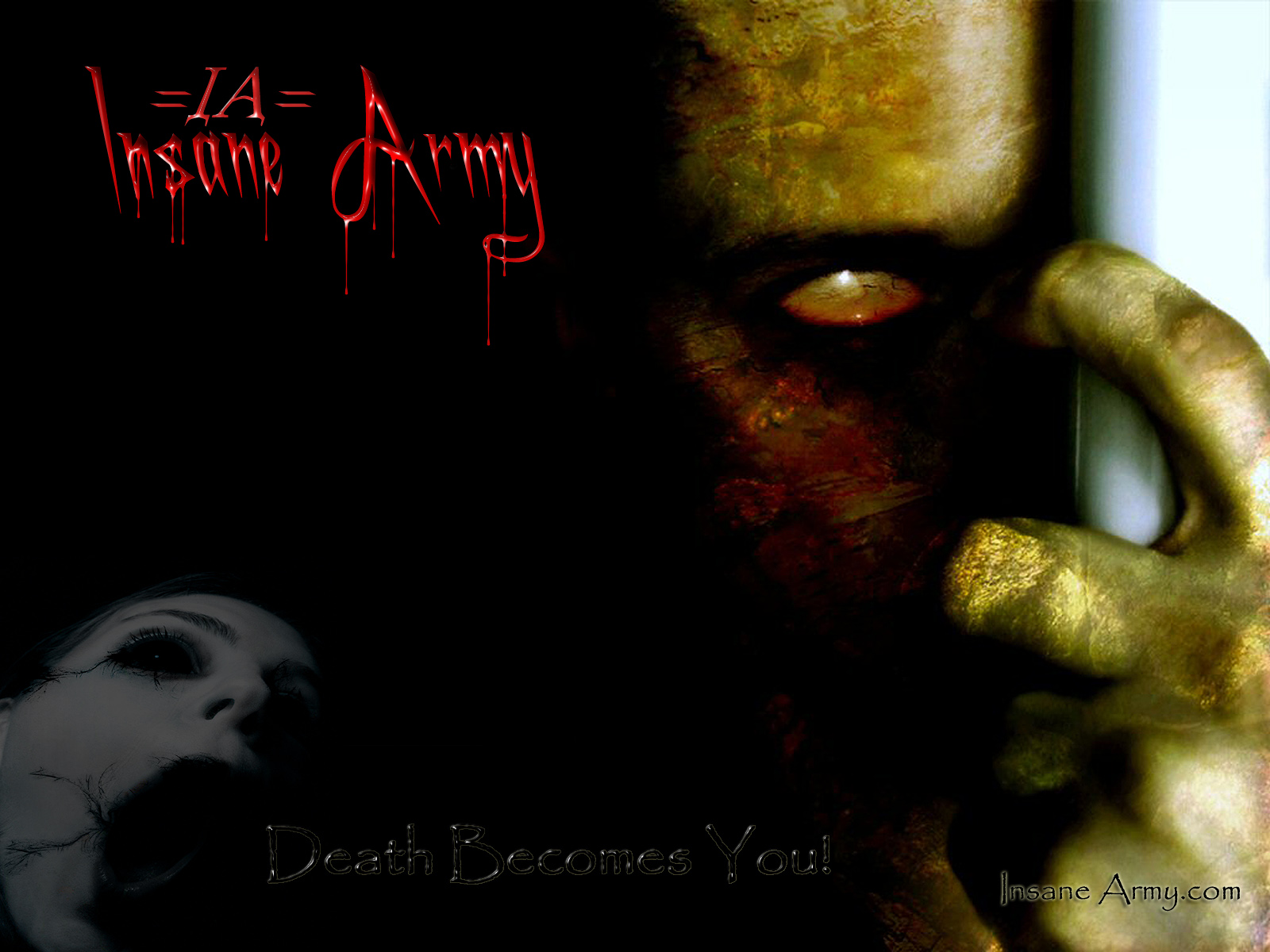 insane army death becomes you wallpapers insane army