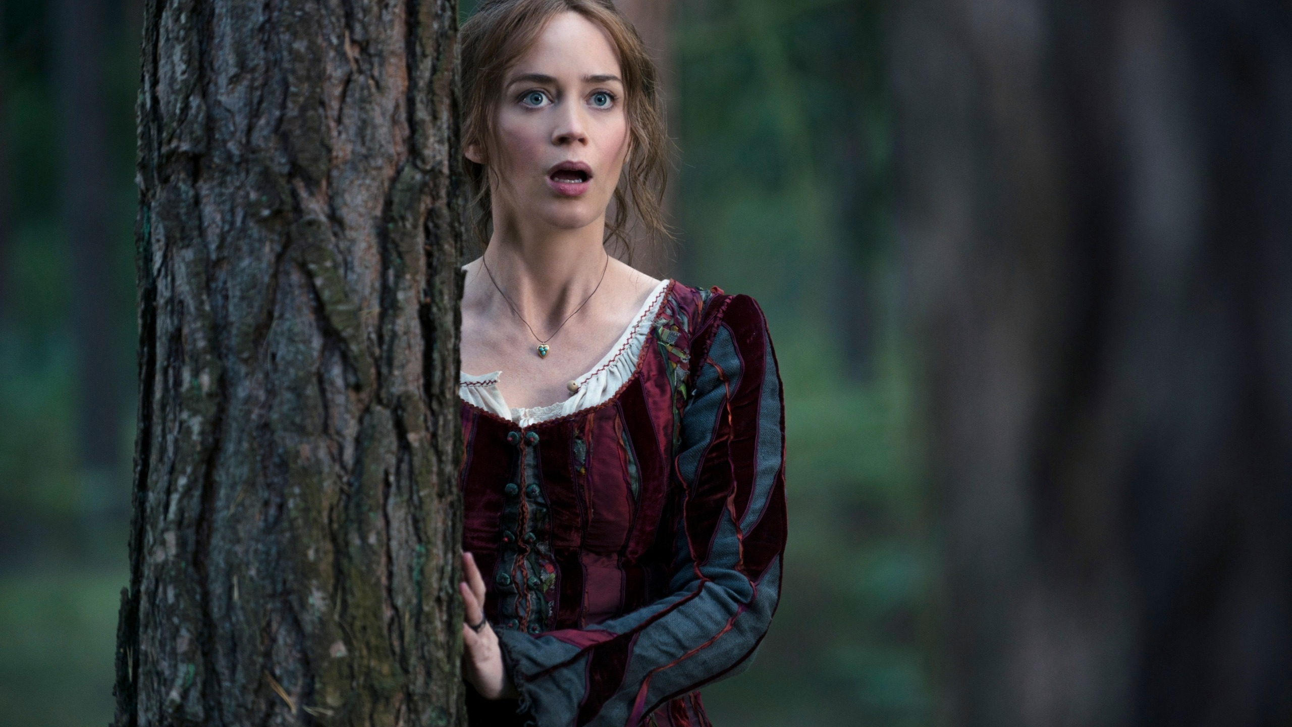 2560x1440 Into the Woods Emily Blunt YouTube Channel Cover Emily Blunt