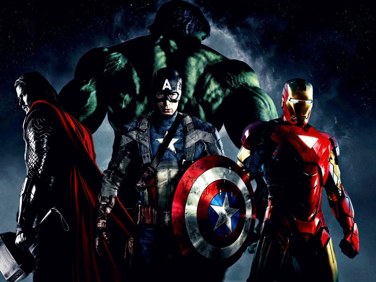 1280x720 Iron Man, movie, avengers