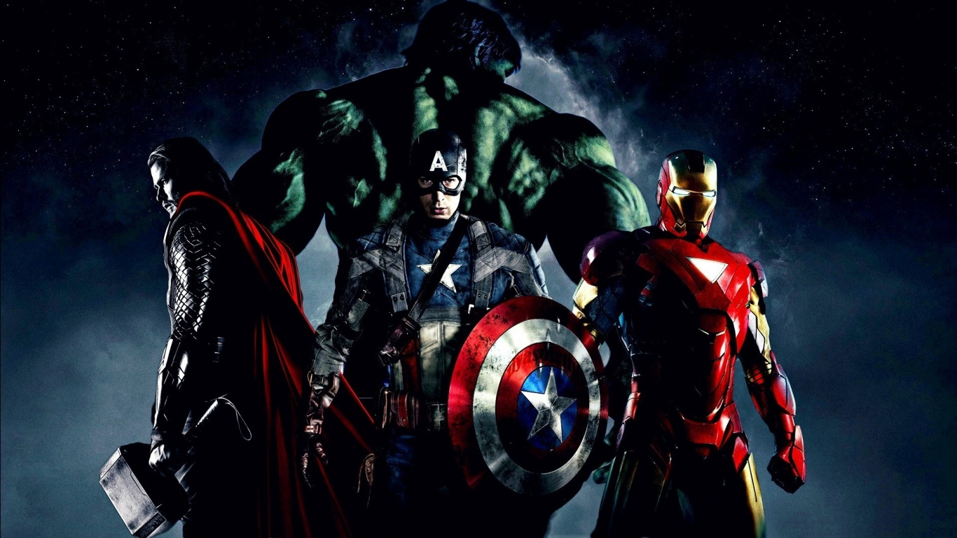 1366x768 Iron Man, movie, avengers