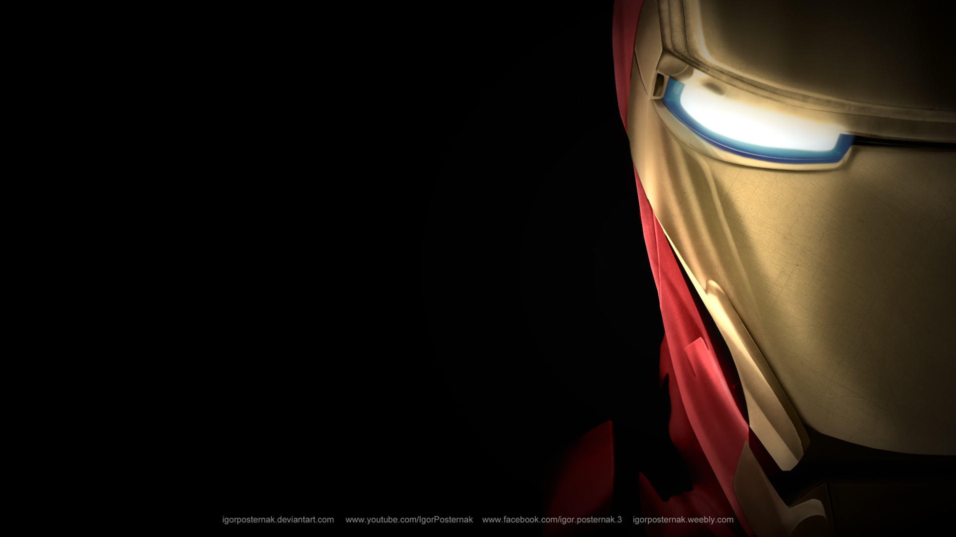 Iron Man wallpapers | ... Nightmare Night Wallpaper