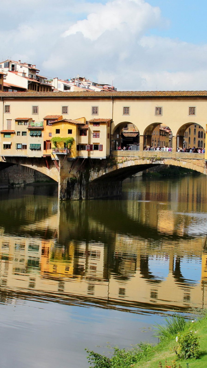 720x1280 Italy Bridges Toscana Firenze Htc one x wallpaper