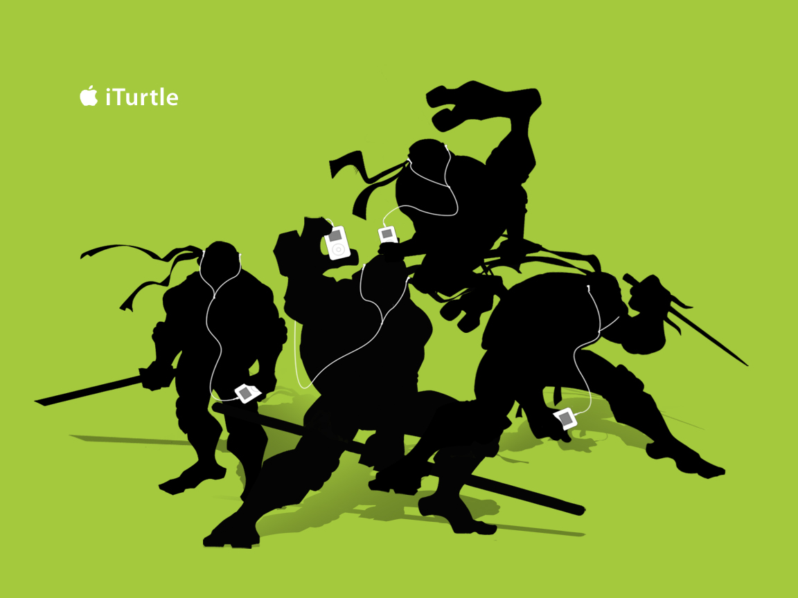 1152x864 iTurtle TMNT desktop wallpapers and stock photos