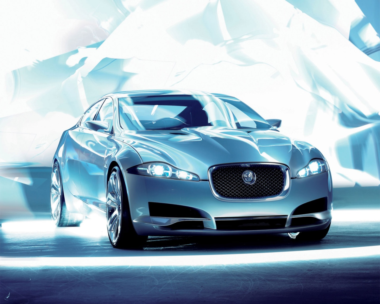1280x1024 Jaguar C Xf Front Desktop Pc And Mac Wallpaper