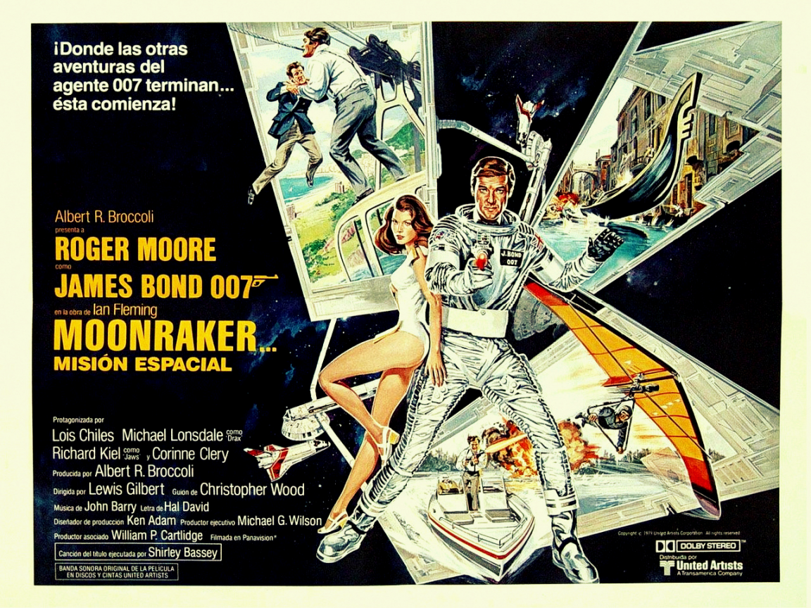 1152x864 james bond in moonraker desktop pc and mac wallpaper