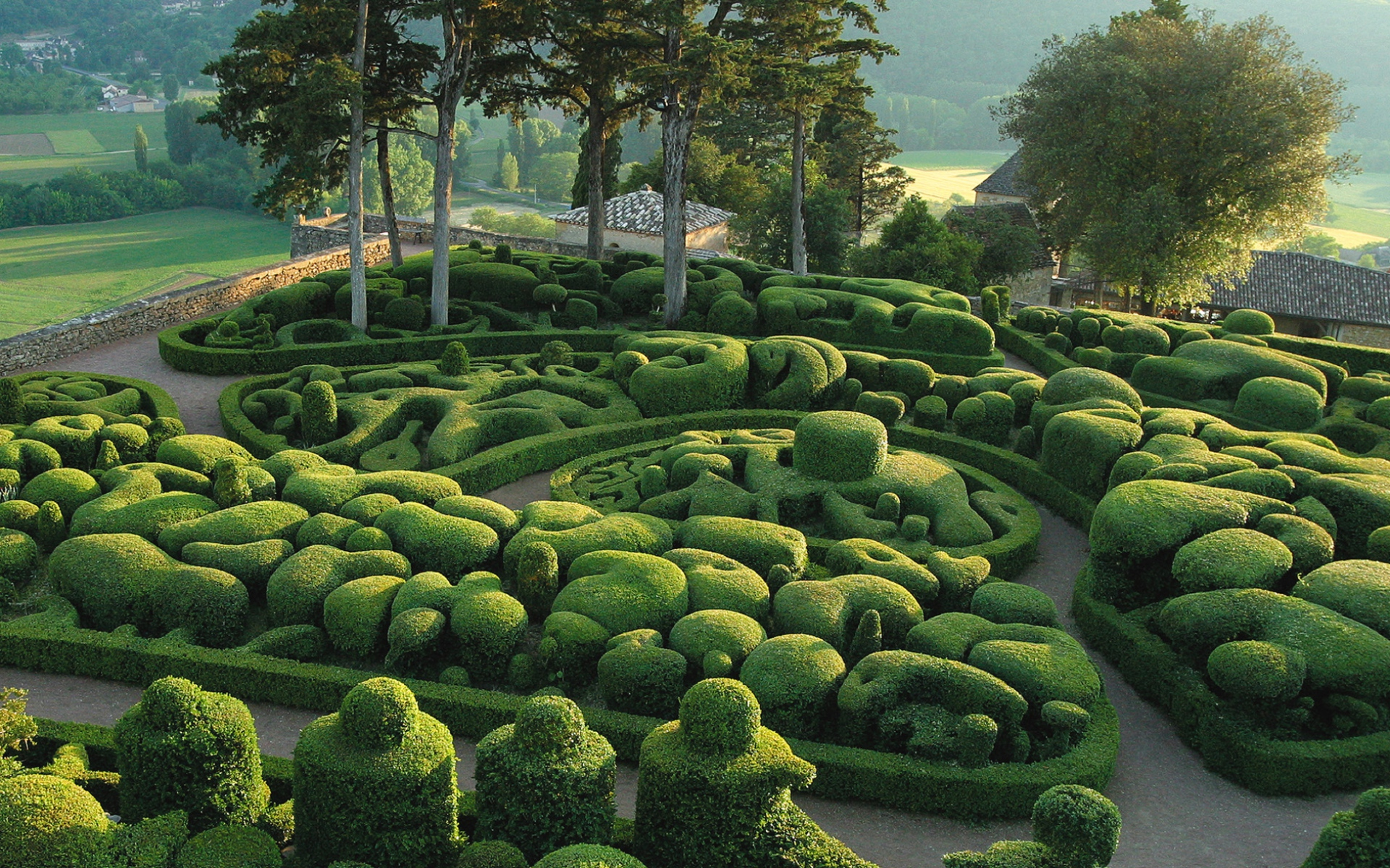1920x1200 jardins de marqueyssac france desktop pc and mac for France jardin