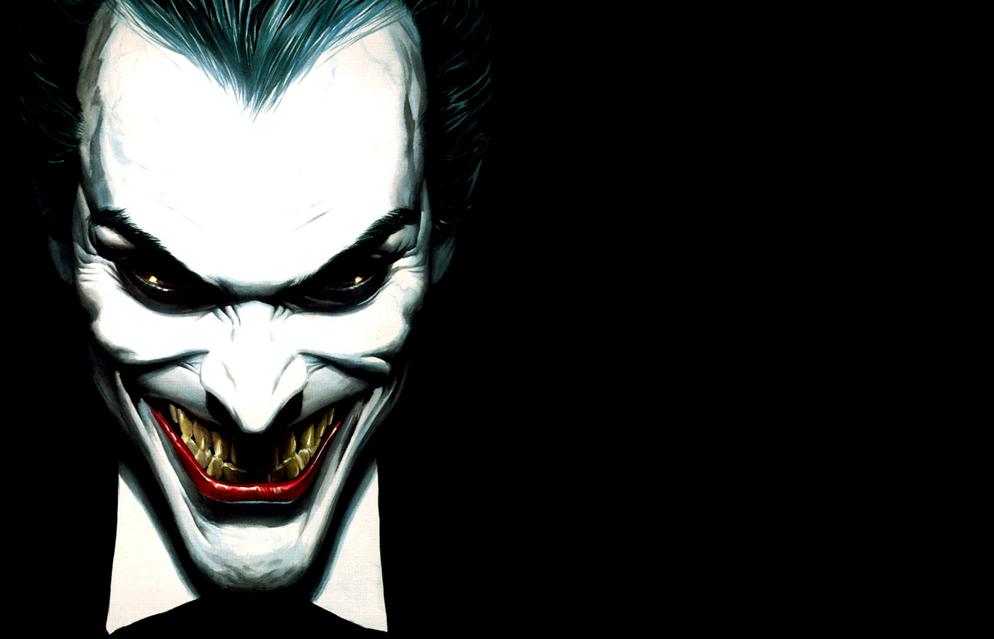 1400x900 Joker face desktop PC and Mac wallpaper