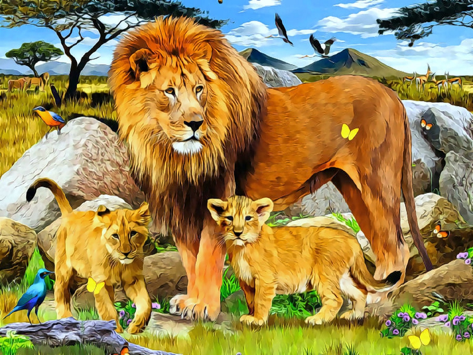 jungle animals twelve wallpapers jungle animals twelve