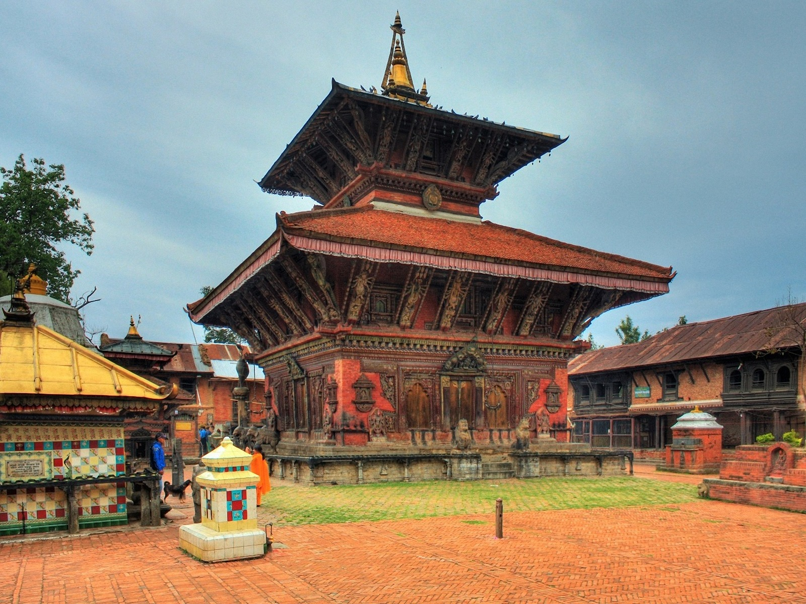 1600x1200 Kathmandu Nepal desktop PC and Mac wallpaper