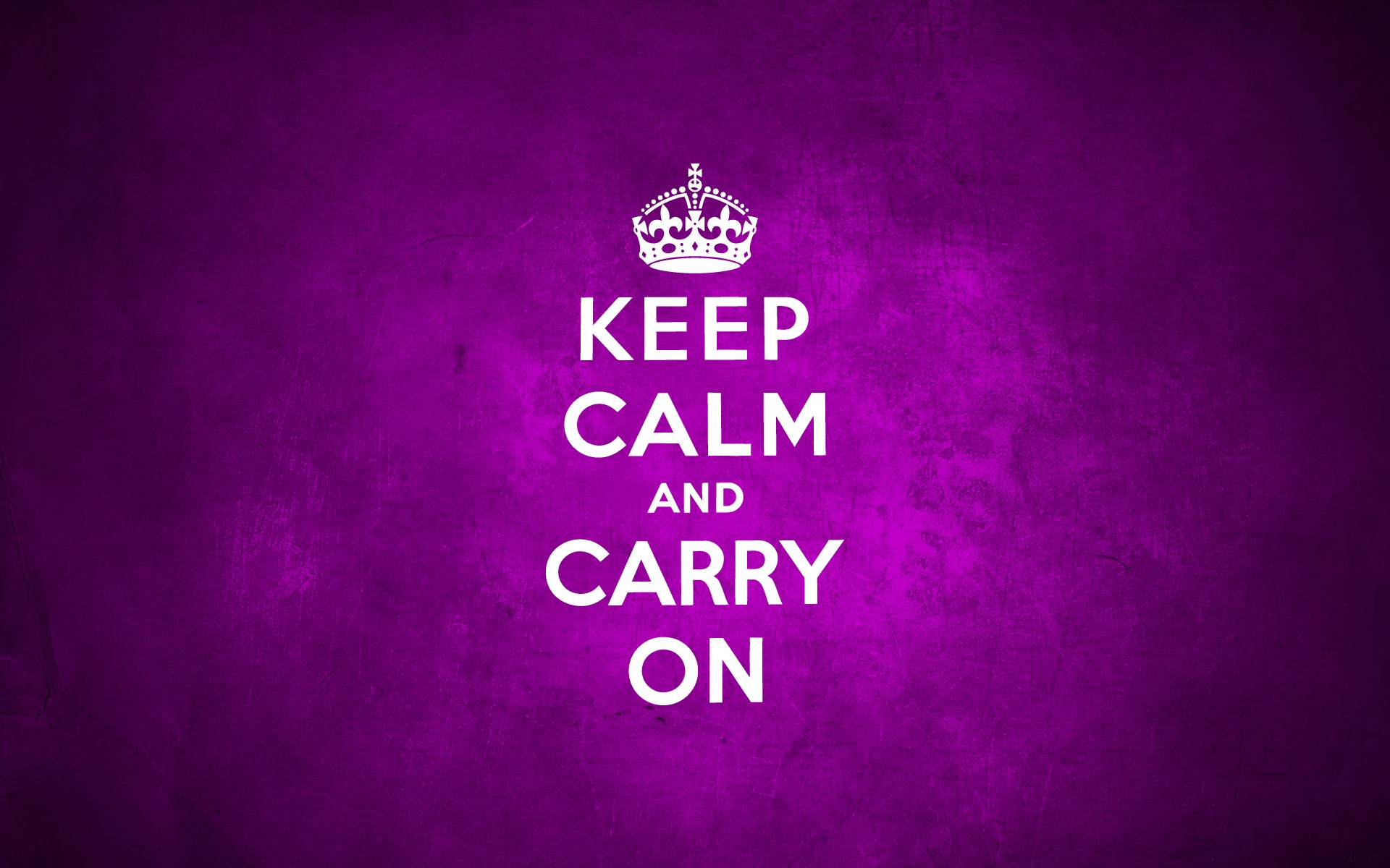 1920x1200 Keep Calm And Carry On Purple