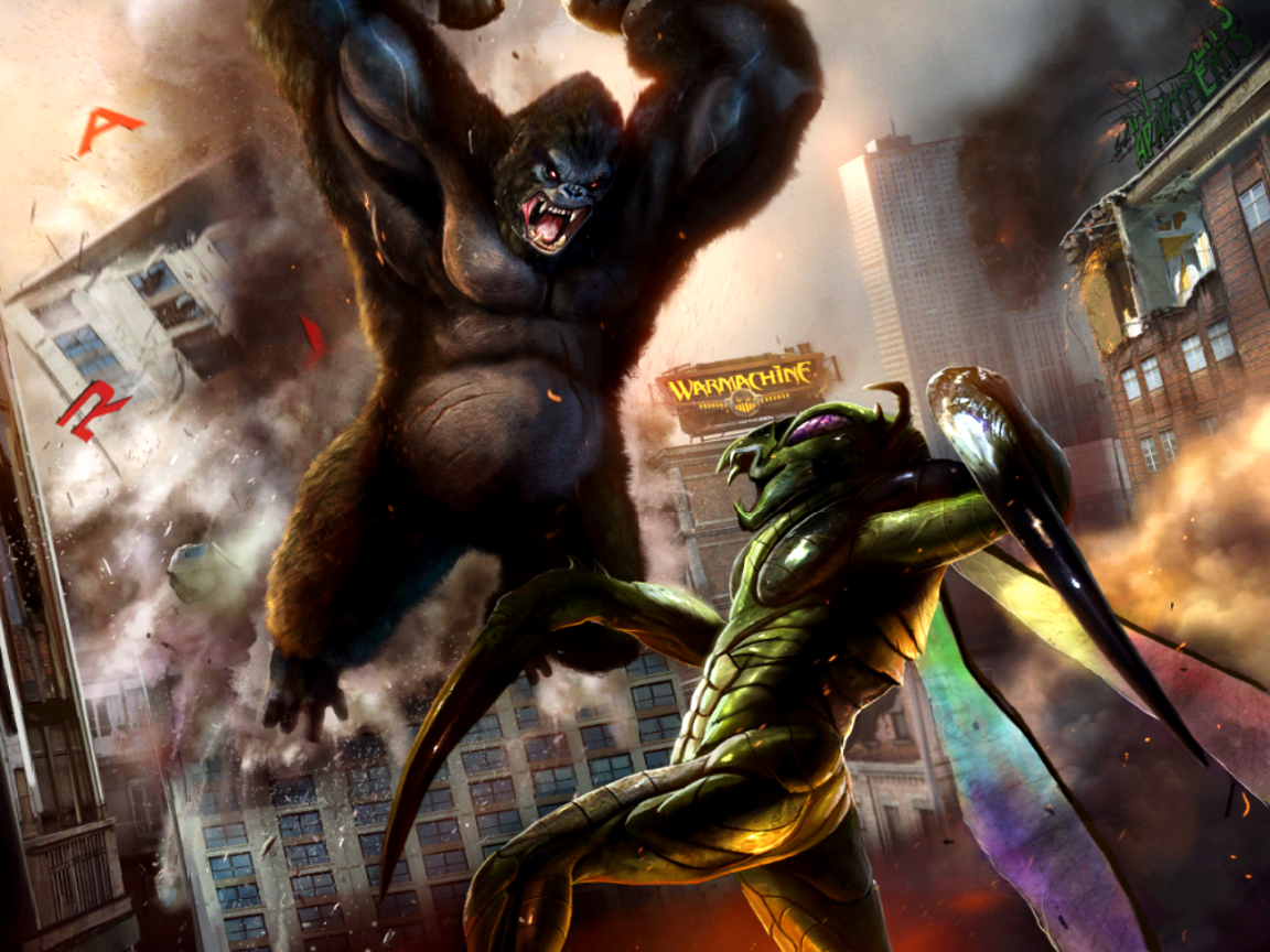 1152x864 King Kong vs Mantis
