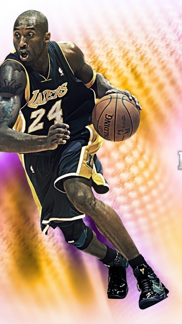 640x1136 Kobe Bryant Basketball Nba La Lakers Sport Sports