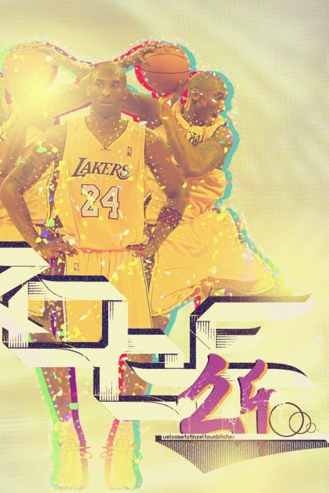 640x960 Kobe Bryant 2012 Lakers Angeles Basketball Nba Iphone