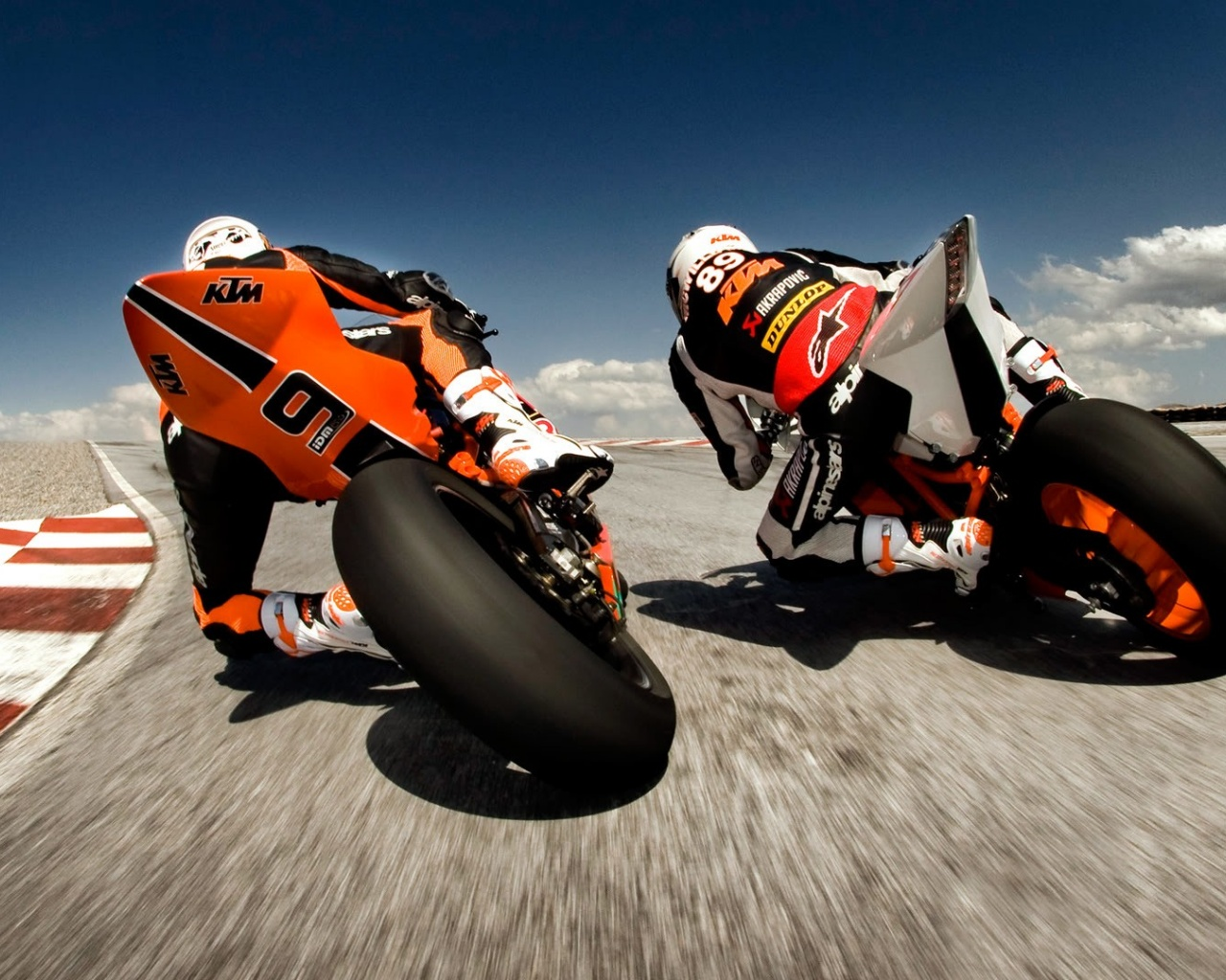 1280x1024 Ktm Bikes Racing Desktop Pc And Mac Wallpaper